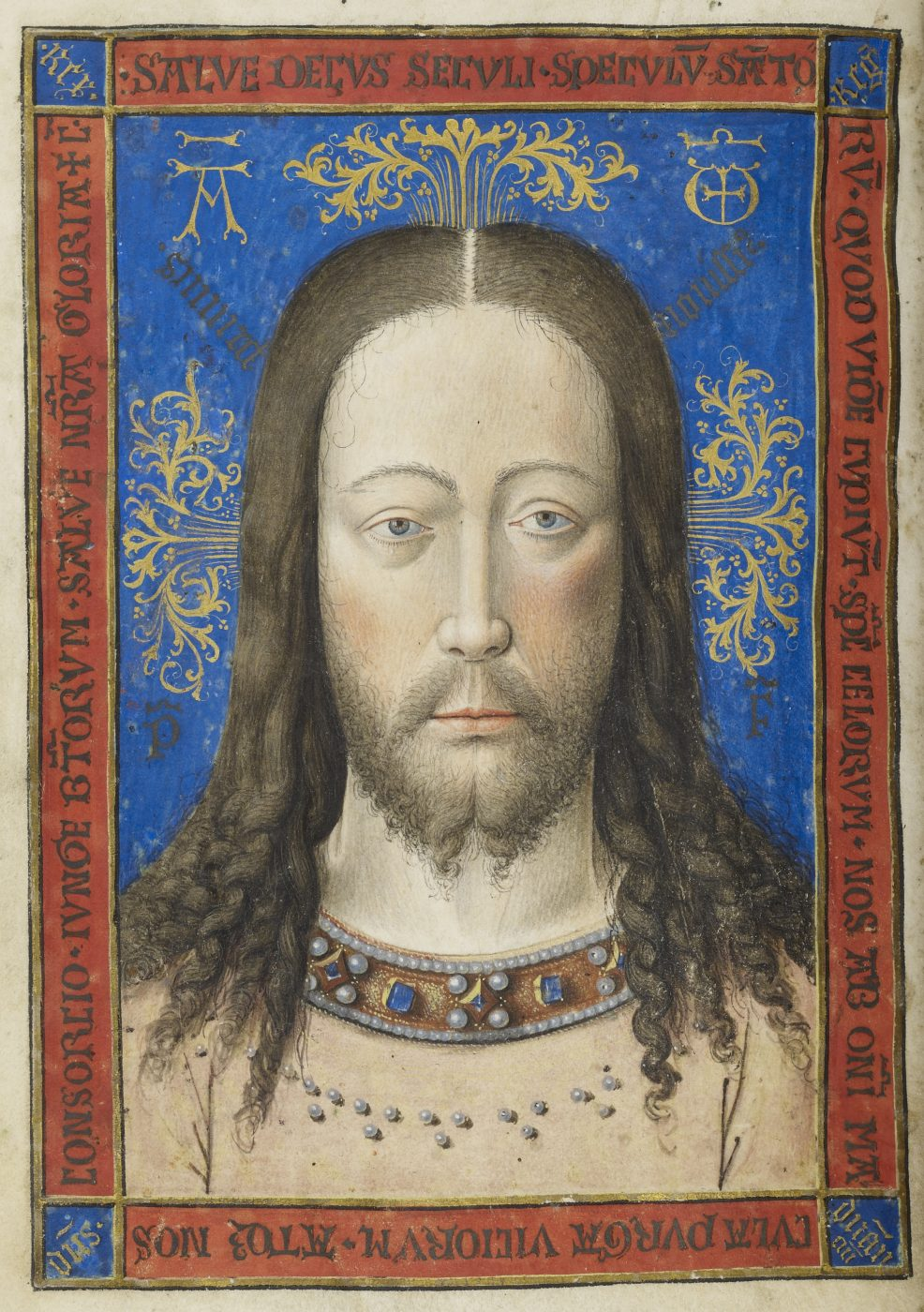 Meester van Jean Chevrot, Vera Icon, ca. 1450 (The Morgan Library & Museum, New York)